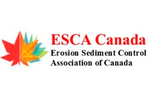 Logo for the Erosion Sediment Control Association of Canada