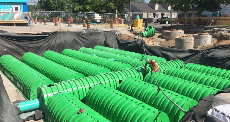 Triton Subsurface Stormwater Management System